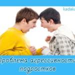 Проблема агрессивности подростков