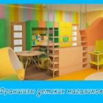 Франшизы детских магазинов