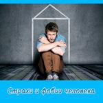 Страхи и фобии человека