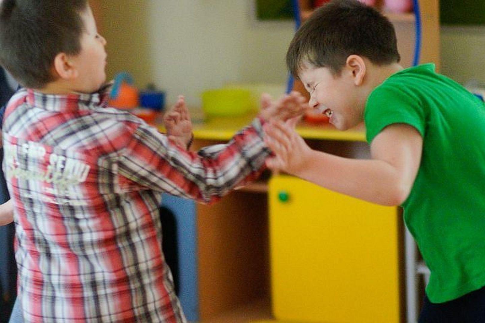 Драка в детском саду